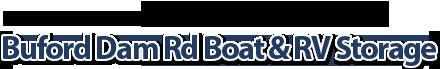 Buford Dam Rd Boat & RV Storage on Lake Lanier! Logo